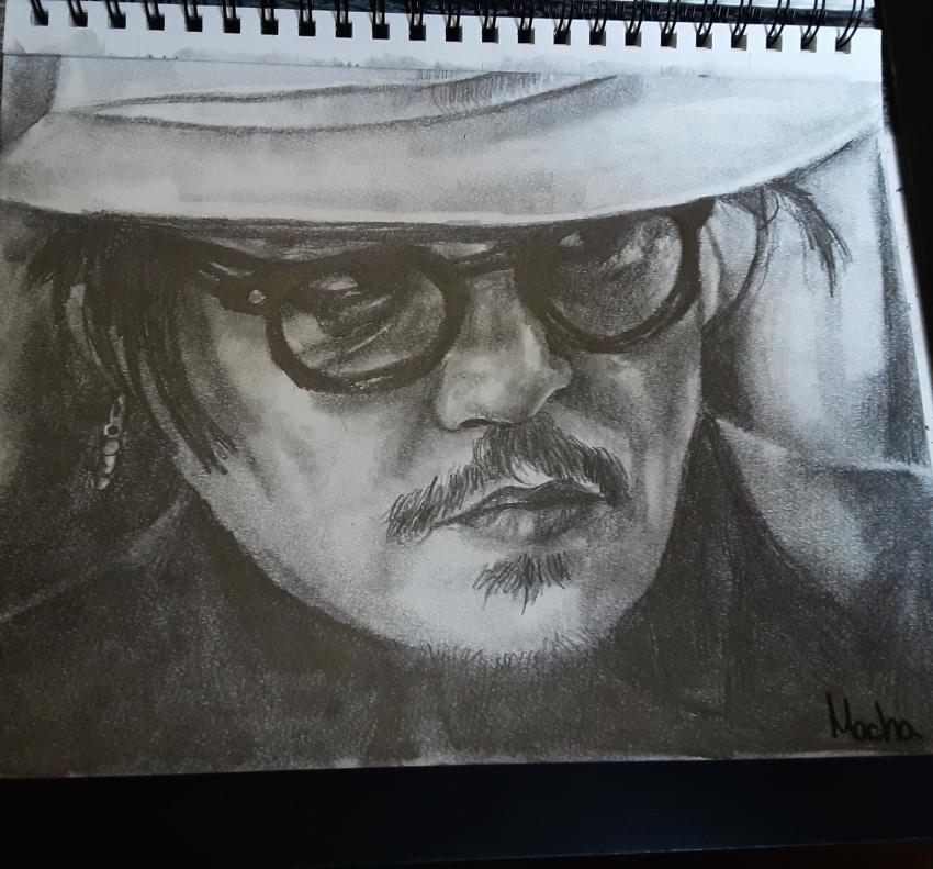 Johnny Depp by Macha